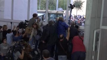 01-10-2017 12:40 Trwa referendum ws. niepodległości Katalonii. Policja użyła gumowych kul. Są ranni