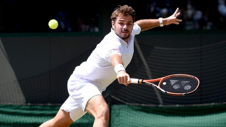 Wawrinka zagra w 1/8 finału Wimbledonu