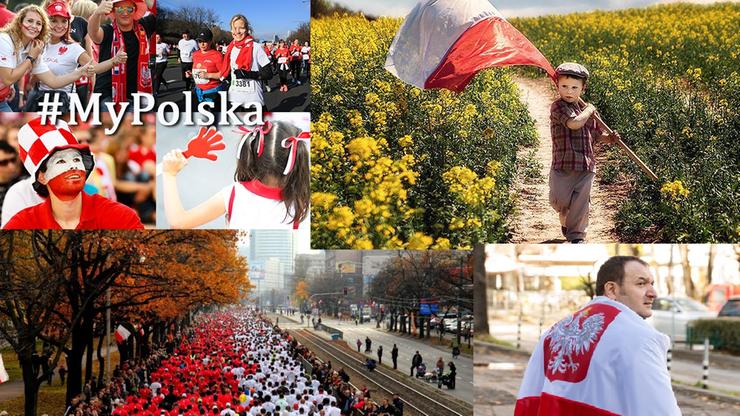 #MyPolska. Polacy wrzucają patriotyczne selfie