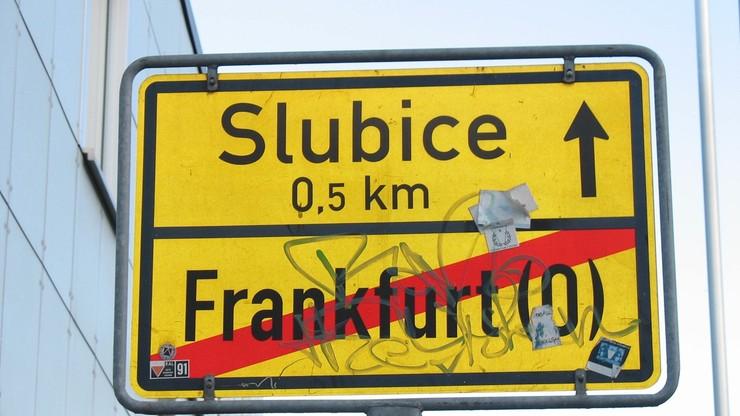 Utrudnienia w ruchu przez most w Słubicach. Przyczyną demonstracje w Niemczech
