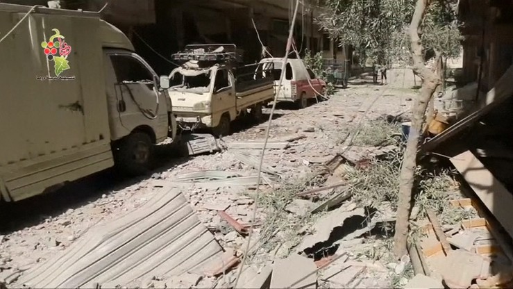 """Syria: zaczął obowiązywać rozejm na południowym zachodzie kraju. """"Nie dochodzi do ataków ani starć"""""""
