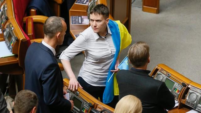 Ukraina: Deputowani za wykluczeniem Sawczenko z delegacji do Zgromadzenia Parlamentarnego Rady Europy