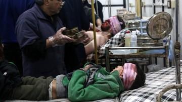 05-04-2017 15:15 WHO: oznaki użycia środka paralityczno-drgawkowego w Syrii