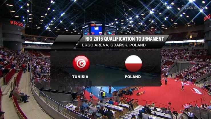 Polska - Tunezja 28:24. Skrót meczu