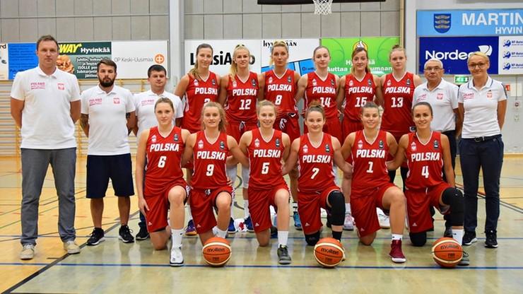 Polskie koszykarki wygrały w meczu towarzyskim z Finlandią