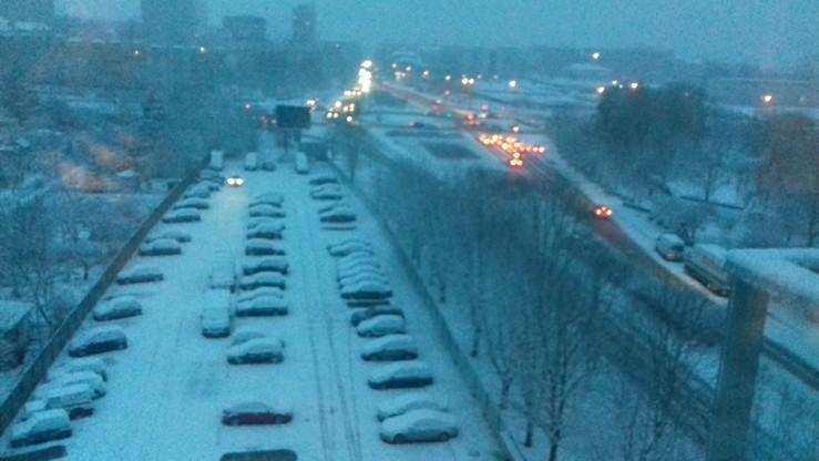 Zima w Kielcach
