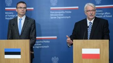 """04-09-2017 12:55 """"Przyszłość Unii Europejskiej i kwestie bezpieczeństwa."""" W Warszawie trwa narada ambasadorów RP"""