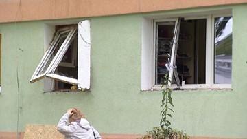 02-09-2017 09:28 Wybuch gazu w bloku w Łodzi. Ranna kobieta