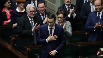 13-12-2017 05:20 Sejm udzielił wotum zaufania rządowi Mateusza Morawieckiego