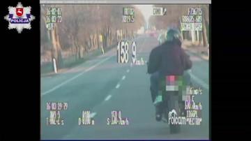 Jechał prawie 200 km/h po drodze krajowej