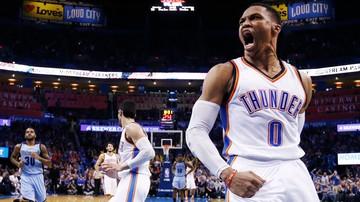 2017-01-14 NBA: Znakomity Westbrook, porażka Thunder