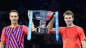 2016-11-20 ATP World Tour Finals: Triumf Kontinena i Peersa w deblu