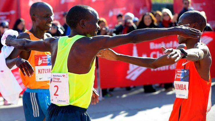 Kenijczycy Kipchoge i Jeptoo najszybsi w Chicago
