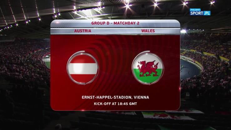 2016-10-06 Austria - Walia 2:2. Skrót meczu