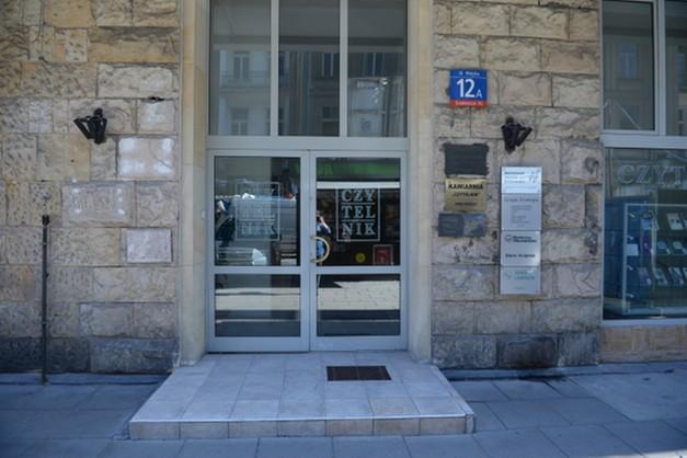 Atak gazem na biuro Platformy Obwyatelskiej