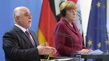 """11-02-2016 17:13 Niemcy pożyczą Irakowi 500 mln euro na odbudowę infrastruktury. Merkel: """"chcemy ograniczyć napływ uchodźców"""""""