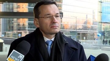 Morawiecki: Warszawa i Londyn jednym głosem przeciwko chińskim cenom stali
