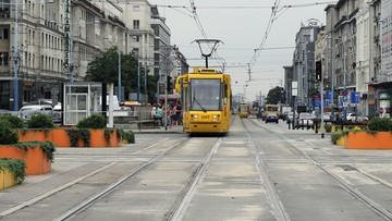 12-04-2017 18:45 Zderzenie tramwajów w Warszawie. 6 osób rannych, w tym 12-latek