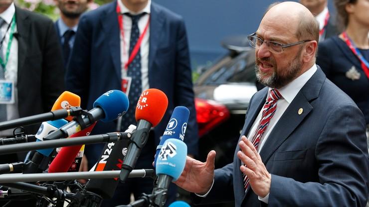Schulz o statusie brytyjskich europosłów: na razie bez zmian