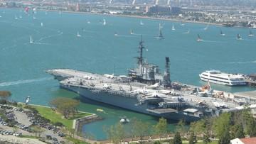 14-06-2016 05:10 Drugi lotniskowiec USA wszedł na Morze Śródziemne