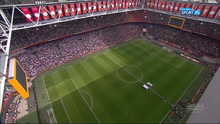 Ajax Amsterdam - Feyenoord Rotterdam 2:1. Skrót meczu