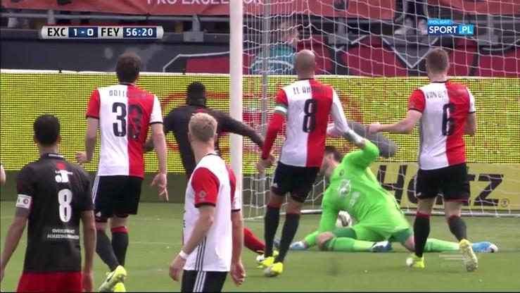Excelsior Rotterdam - Feyenoord Rotterdam 3:0. Wszystkie bramki