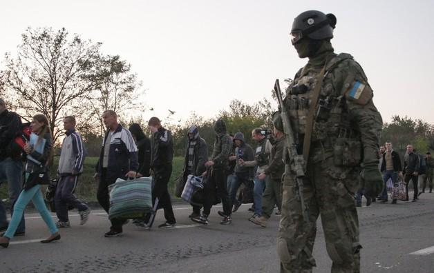 Ukraina: wymiana zakładników