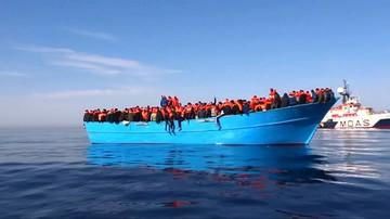 28-08-2017 05:42 Spada liczba migrantów docierających do Włoch