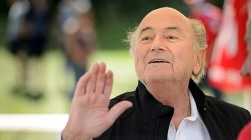 2015-11-12 Blatter opuścił szpital