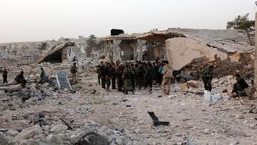 13-10-2016 09:55 Szkoła w Aleppo zbombardowana. Wśród ofiar są dzieci