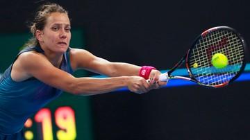 2017-10-15 WTA w Linzu: Strycova pokonała Rybarikovą w finale