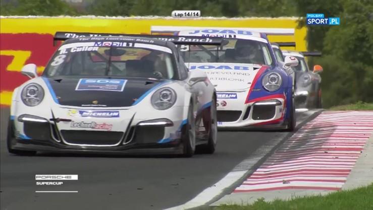Robert Lukas drugi w wyścigu Porsche Supercup. Polak tuż za Niemcem
