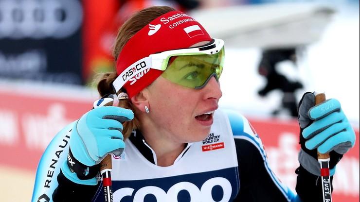 PŚ w biegach narciarskich: Pech Kowalczyk w półfinale