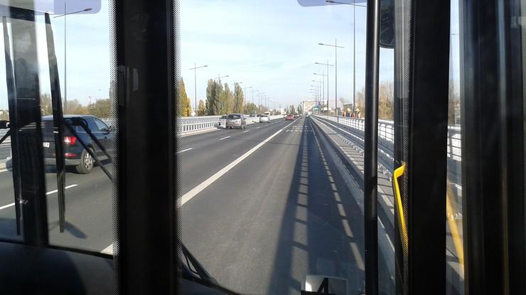 2015-10-28 Odbudowany most Łazienkowski w Warszawie już otwarty
