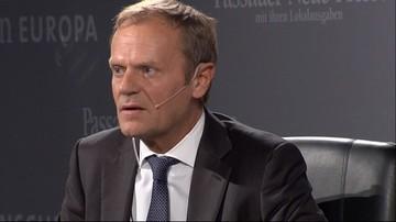 12-10-2016 16:25 Tusk: rząd traktuje mnie jak wroga publicznego. PiS: ta wypowiedź wróży powrót Tuska