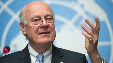 """28-04-2016 05:49 ONZ: rozmowy pokojowe i rozejm w Syriii """"w wielkim niebezpieczeństwie"""""""