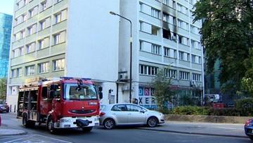 Wybuch gazu w centrum Warszawy. Ewakuowano mieszkańców budynku