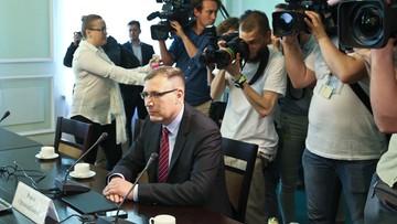 24-05-2016 17:09 Obserwator PiS: na spotkaniu ws. TK opozycja nie mówiła jednym głosem