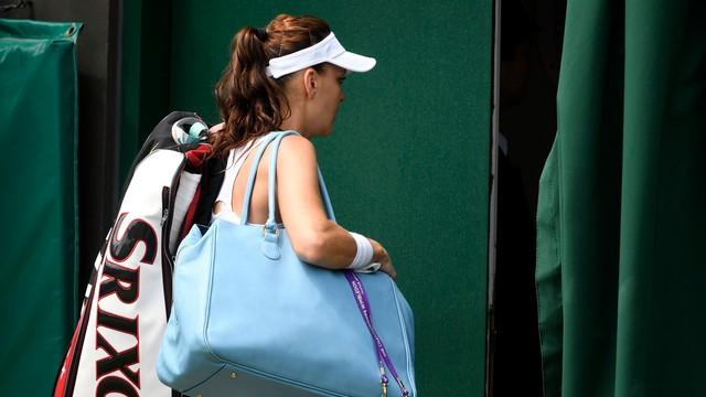 Radwańska odpadła z Wimbledonu. Przegrała z Kuzniecową w 1/8 finału