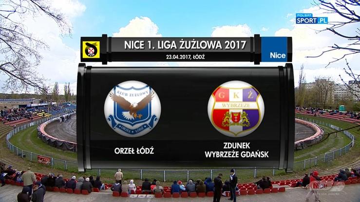 Orzeł Łódź - Zdunek Wybrzeże Gdańsk 30:30. Skrót meczu
