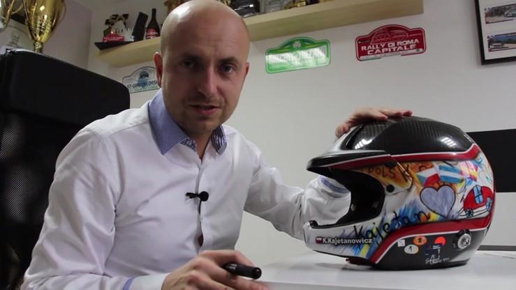 Kajetanowicz przekaże swój kask na licytację podczas Balu Mistrzów Sportu