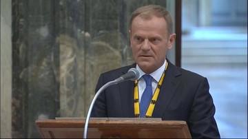 06-05-2016 13:55 Tusk zapewnia papieża: Polska pozostanie w Europie