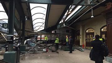 29-09-2016 19:38 Wypadek pociągu pod Nowym Jorkiem. Jedna osoba zginęła