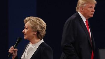 """10-10-2016 11:38 Media w USA: """"brzydka debata"""", w której Trump się odbudował, ale nie wygrał"""