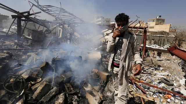 Jemen: 33 osoby zginęły w nalotach arabskiej koalicji