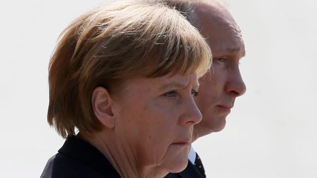 Putin: stanowiska Rosji i Niemiec ws. kryzysu na Ukrainie są podobne