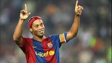 01-12-2016 19:28 Piękny gest Ronaldinho i Riquelme. Chcą grać w Chapecoense za darmo