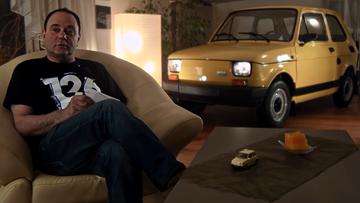 """11-08-2016 13:40 Nie mówcie nikomu, że trzymam """"malucha"""" w pokoju. Nieużywany Fiat 126p idzie na sprzedaż"""