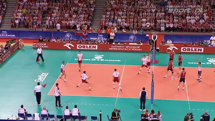 2015-07-04 Polska - USA 3:2. Skrót meczu