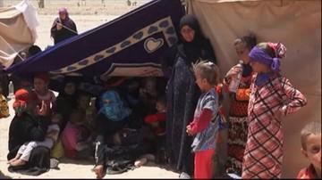 01-06-2016 12:57 UNICEF: 20 tys. dzieci uwięzionych w oblężonej irackiej Faludży